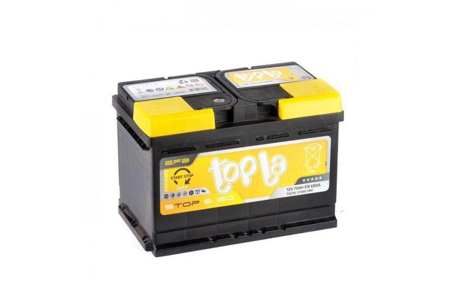 Аккумулятор Topla EFB Stop & Go 70 A/h 680A R+