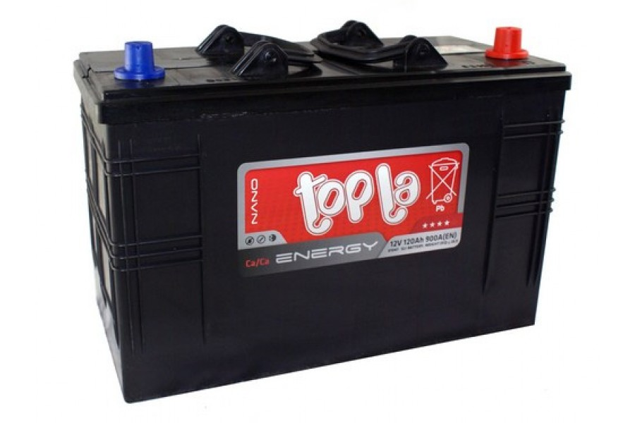Аккумулятор Topla Energy 120  A/h R+ 900A (IVECO).