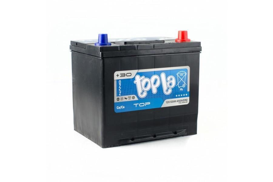 Аккумулятор Topla 65 Ah 650 (EN) R+