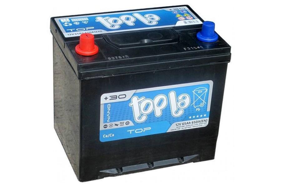 Аккумулятор Topla 65 Ah 650 (EN) L+