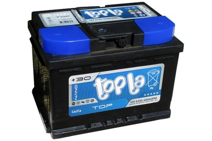 Аккумулятор Topla TOP 62  A/h 600A