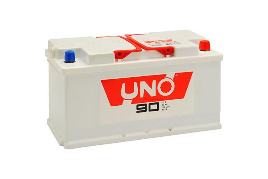 Аккумулятор UNO 6CТ-90 (90  A/h) 670 A