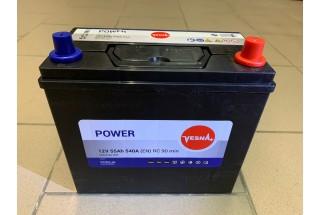 Аккумулятор VESNA AZIA 55  A/h R+ 540A (EN)