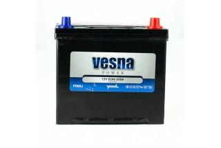 Аккумулятор VESNA AZIA 65  A/h R+ 650A (EN)