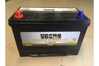 Аккумулятор VESNA EFB azia 105  A/h L+ 900A