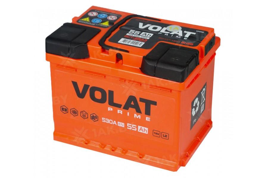 Аккумулятор VOLAT Prime 55 A/h 530А L+