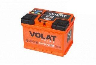 Аккумулятор VOLAT Prime 62 A/H 600A L+