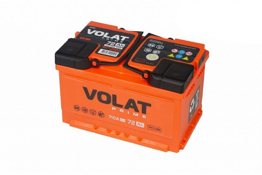 Аккумулятор VOLAT Prime 72 A/h 710A R+
