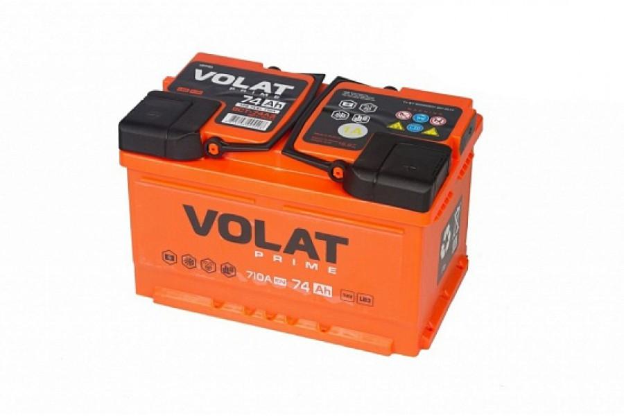 Аккумулятор VOLAT Prime 74 A/h 710A R+