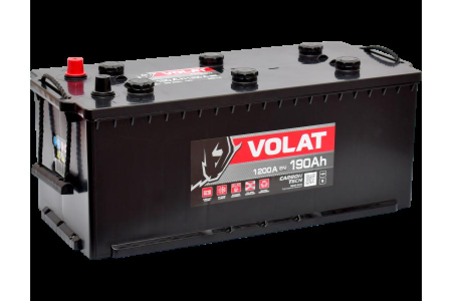 Аккумулятор VOLAT Ultra Truck 190  A/h 1200A L+