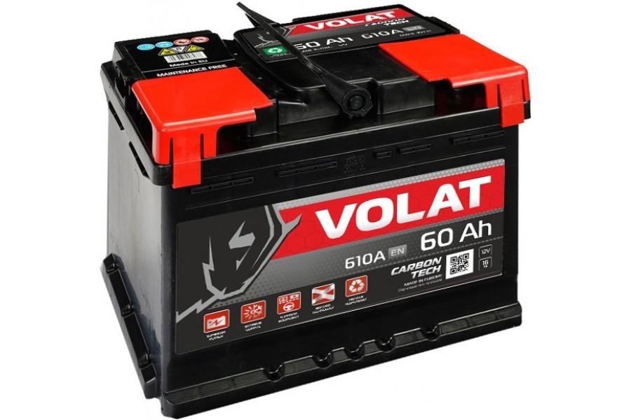 Аккумулятор VOLAT Ultra 60  A/h 610А