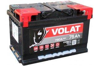 Аккумулятор VOLAT Ultra 75  A/h 780А низкий