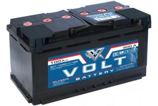 Аккумулятор Volt 100  A/h 800A ОТ 1-го ПОСТАВЩИКА