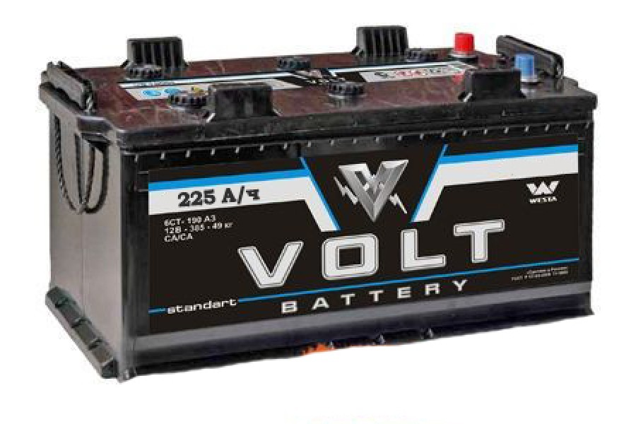 Аккумулятор Volt 225  A/h 1500 (EN) ОТ 1-го ПОСТАВЩИКА
