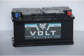Аккумулятор Volt 90  A/h ОТ 1-го ПОСТАВЩИКА