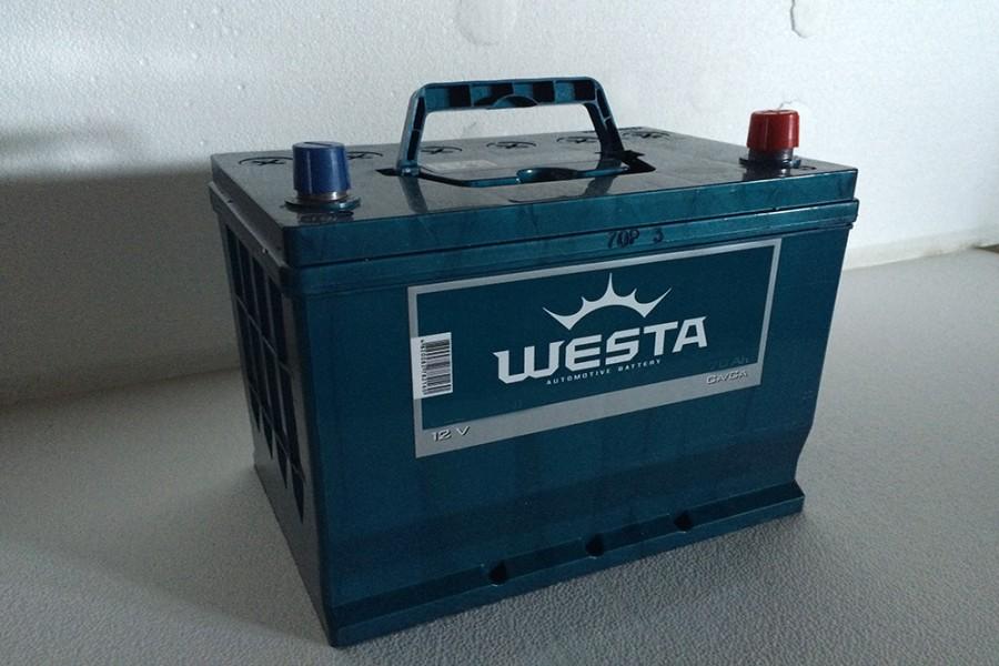 Аккумулятор Westa Asia 50  A/h 480A e/n ОТ 1-го ПОСТАВЩИКА