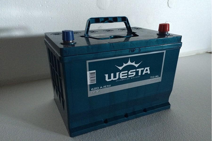 Аккумулятор Westa Asia 70  A/h 620A e/n ОТ 1-го ПОСТАВЩИКА