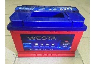Аккумулятор Westa RED EFB 78 A/h 750A ОТ 1-го ПОСТАВЩИКА