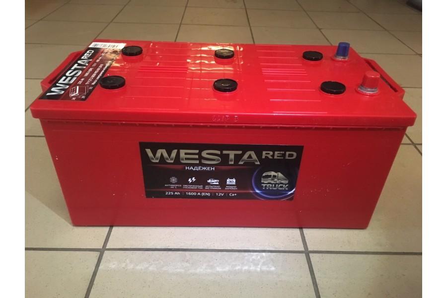 Аккумулятор Westa 225  A/h 1600A (EN) ОТ 1-го ПОСТАВЩИКА