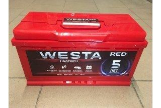 Аккумулятор Westa RED 92  A/h 850A ОТ 1-го ПОСТАВЩИКА
