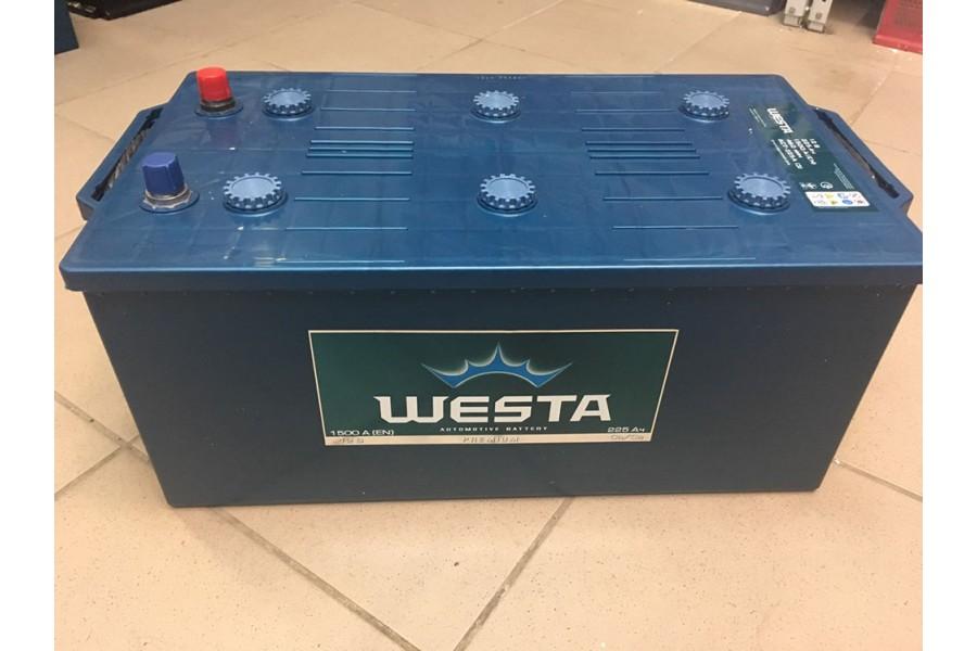 Аккумулятор Westa Premium 225  A/h 1500A  (EN) ОТ 1-го ПОСТАВЩИКА