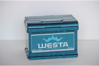 Аккумулятор Westa 60  A/h 600A L+R+ ОТ 1-го ПОСТАВЩИКА