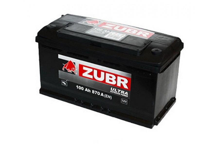 Аккумулятор Zubr Ultra 100  A/h 940А R+
