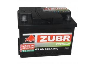 Аккумулятор Zubr EFB 63 A/h 620А R+