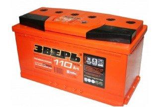 Аккумулятор Зверь 110 A/h 950A R+