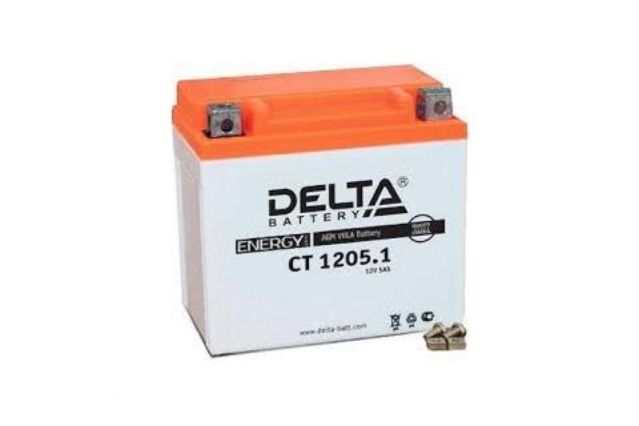 Аккумулятор Delta CT1205.1 (12N5-3B, YB5L-B)