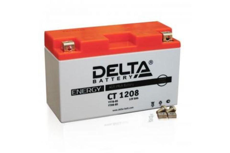 Аккумулятор Delta CT1208 (YT7B-BS, YT7B-4,YT9B-BS)