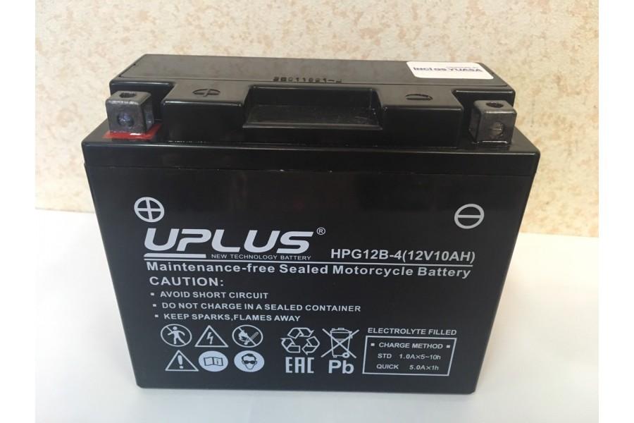 Аккумулятор UPLUS HPG12B-4 L+