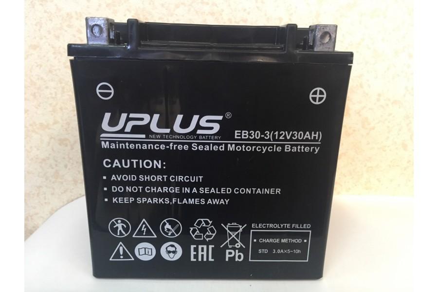 Аккумулятор UPLUS Super StarEB30-3 (YB30L-B 30 Ah R+