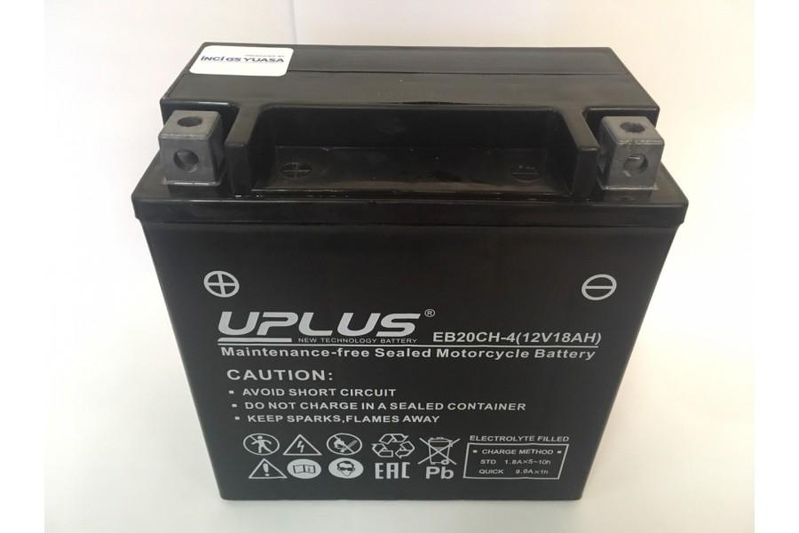 Аккумулятор UPLUS Super Star EB20CH-4 (YTX 20CH; YTX 16) (18Ah) L+