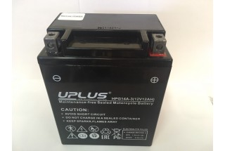 Аккумулятор UPLUS Super Star GEL 14A-3 (YTX 14)