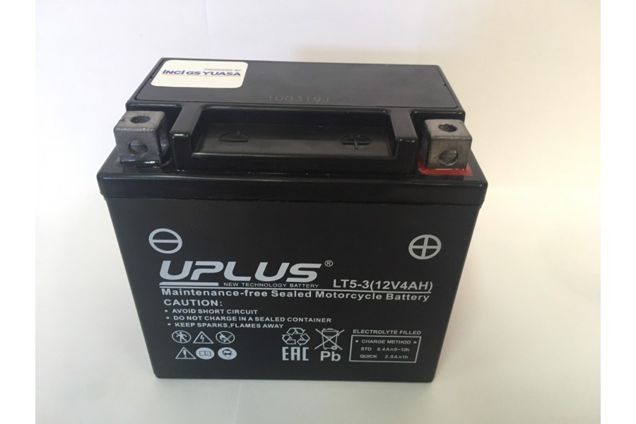 Аккумулятор UPLUS Super Star LT5-3 (YTX5L)
