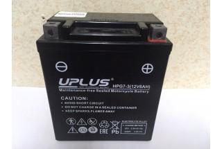 Аккумулятор Uplus super star HPG7-3 YTX7L-BS 506014 (6Ah) R+ 150A