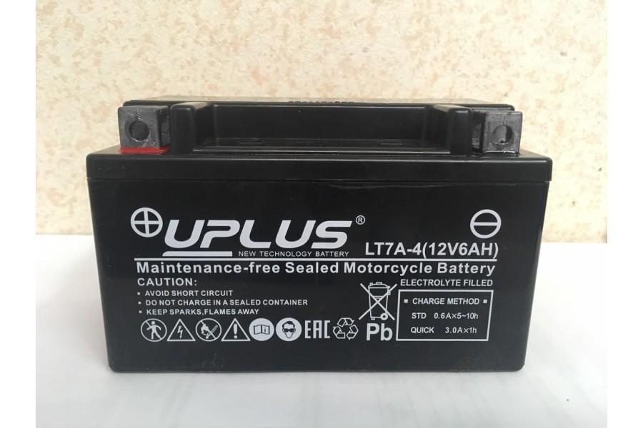 Аккумулятор UPLUS Super Start LT7A-4 (YTX 7A- BS 506015) 6  A/h L+