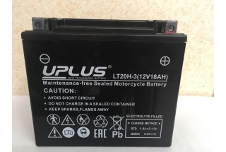 Аккумулятор UPLUS Super Start LT20H-3 (YTX20L-BS 518901) 18  A/h R+