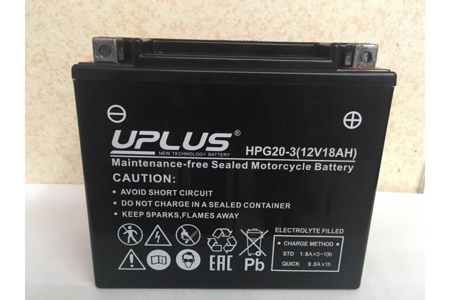 Аккумулятор UPLUS Nano Gel HPG20-3 (YTX20L-BS 518901) 18  A/h R+