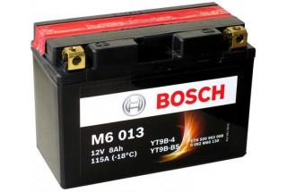 Аккумулятор Bosch M6 013 509 902 008 (8 A/H), 115A, YT9B-BS / YT9B-4