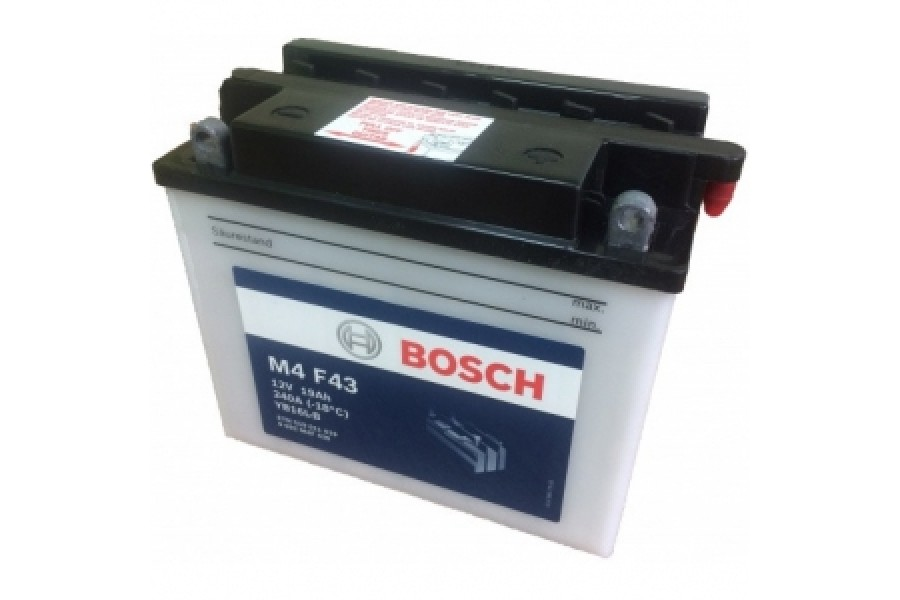 Аккумулятор Bosch M4 F44 519 012 019 (19 A/H), 240A, YB16L-B
