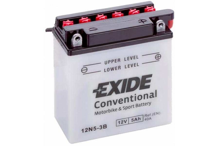 Аккумулятор Exide 12N5-3B (5 A/h), 40A R+