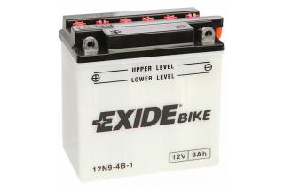 Аккумулятор Exide 12N9-4B-1 (9 A/h), 85A L+