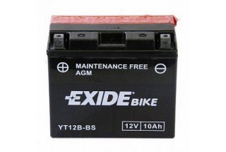 Аккумулятор Exide YT12B-BS (10 A/h), 160А L+