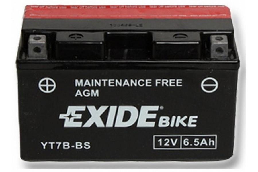 Аккумулятор Exide YT7Z-BS (6 A/h), 110 R+