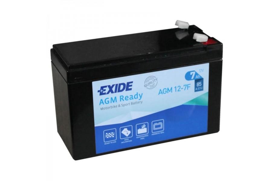 Аккумулятор Exide AGM12-7F (7 A/h), 85А R+