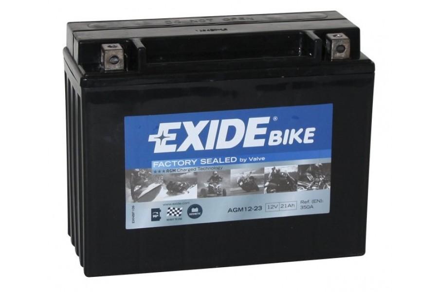 Аккумулятор Exide AGM12-23 (21 A/h), 350А R+