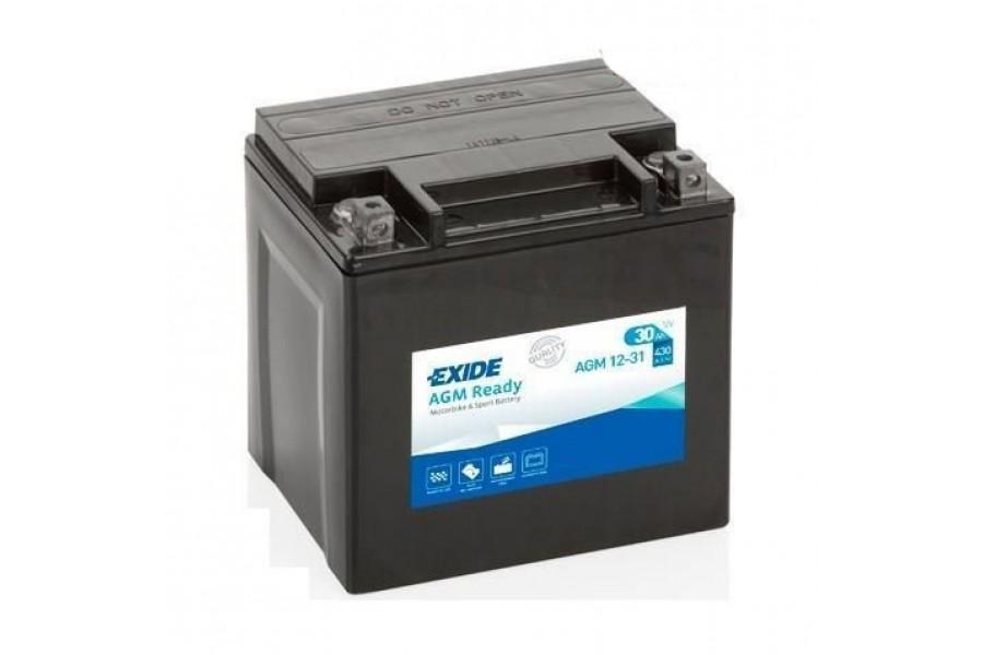 Аккумулятор Exide AGM12-31 (30 A/h), 430А R+