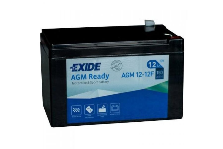 Аккумулятор Exide AGM12-12F (12 A/h), 150А R+